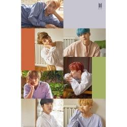 BTS Collage-affisch One Size Flerfärgade