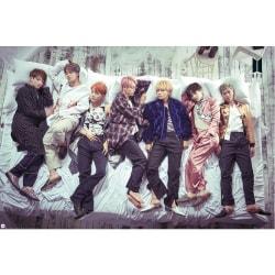 BTS Gruppsängaffisch One Size Flerfärgade