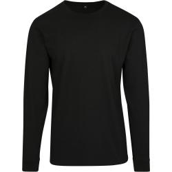 Build Your Brand Mens långärmad tröja XL svart