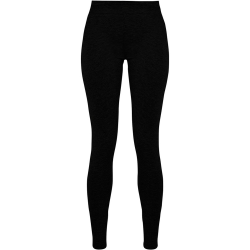 Build Your Brand Stretch-leggings för kvinnor / damer L Svart
