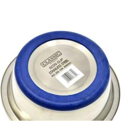 Caldex Klassisk halkfri stålskål 21.5cm Silver