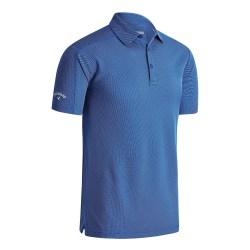 Callaway Denim Jacquard Polo T-shirt S Medeltida blå