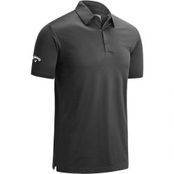 Callaway Herr Swing Tech Polo shirt med en färg M Asfaltgrå