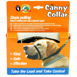 Canny Anti-Pull Dog Collar Size 5 Svart