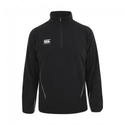 Canterbury Herr Team Zip Neck Micro Fleece XXL Svart vit
