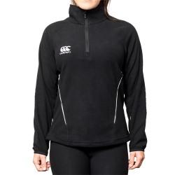 Canterbury Kvinnor / damer Team Zip Neck Micro Fleece 14 UK Svar