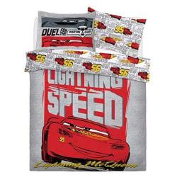 Cars Lightening Speed Boys Reversible Duvet Set Double Flerfärga