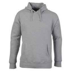 Casual Classic Mens Pullover Hood 2XL Sport Grey