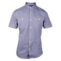 CAT Lifestyle Mens C2611029 Fundamental kortärmad sommarskjorta