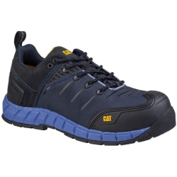 Caterpillar Mens Byway Lace Up Safety Trainer 9 UK Blå nätter