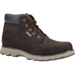 Caterpillar Mens Founder Leather Boots 10 UK Coffee