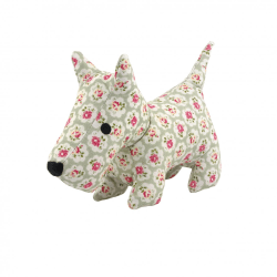 Cath Kidston Provence Rose Stanley Plush Dog Toy One Size Flerfä