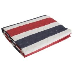Catherine Lansfield Hem UK / USA Reversible Flag Bed Throw 220 x