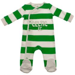Celtic FC Baby sovvakt 0-3 Months Vit / Grön