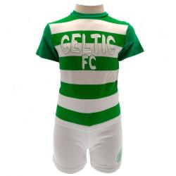 Celtic FC Baby T-shirt & shorts-set 3-6 Months Vit / Grön