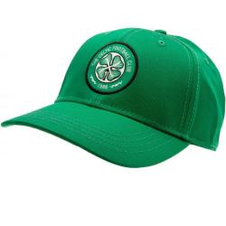 Celtic FC Crest Cap One Size Grön