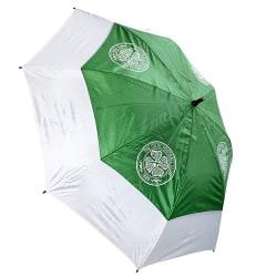 Celtic FC Dubbel Canopy Golf Paraply One Size Grön / Vit