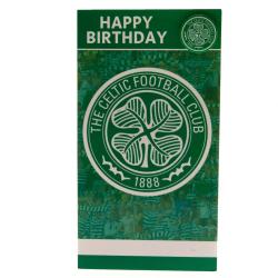 Celtic FC Födelsedagskort och märke One Size Grön