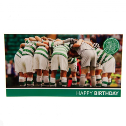 Celtic FC Födelsedagskort One Size Grön / Vit