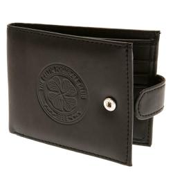 Celtic FC Mäns officiella RFID präglade läderplånbok One Size Sv