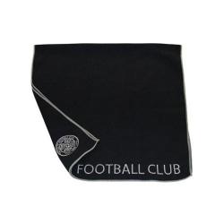 Celtic FC Officiell Aqualock Caddy Handduk One Size Svart