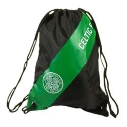 Celtic FC Officiell Gymnastiksäck för fotboll One Size Svart / G