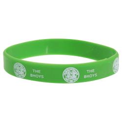 Celtic FC Officiell singel gummi fotboll crest armband One Size