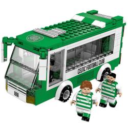 Celtic FC Team Bus Building Bricks Set One Size Grön / Vit