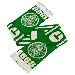 Celtic Tassled Scarf One Size Grön / Vit