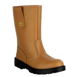 Centek FS334 Safety Rigger Boot / Mens Boots 12 UK Solbränna