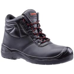 Centek FS336 S3 Lace Up Leather Safety Boot 10 UK Svart