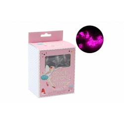 CGB Giftware Once Upon A Time Pink Star String Lights One Size R