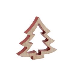 CGB Giftware Stor trädträdprydnad 3D One Size Beige / Red