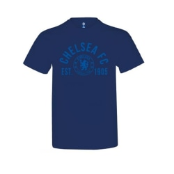 Chelsea Barns / barn marinblå etablerad T-shirt 9-11 Years Marin
