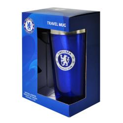 Chelsea Boxed Aluminum Travel Mug 450ml Blå