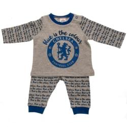 Chelsea FC Baby pyjamaset 0-3 Months Grå / blå