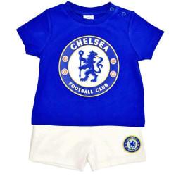 Chelsea FC Babyshorts och Tee Sleep Set 9-12 Months Blå