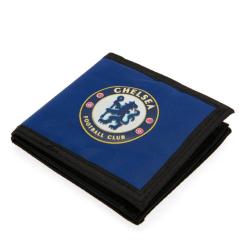 Chelsea FC Canvas Touch Fästplånbok One Size Blå svart