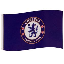 Chelsea FC Flagga One Size Blå