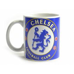 Chelsea FC Halvton 0,3 kg Boxed Mugg One Size Blå vit
