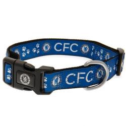 Chelsea FC Hundhalsband 45cm - 70cm Blå svart