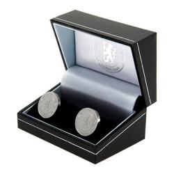Chelsea FC Manschettknappar i rostfritt stål One size Silver