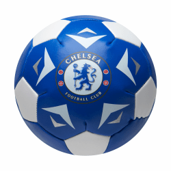 Chelsea FC Mjuk minifotboll One Size Blå vit