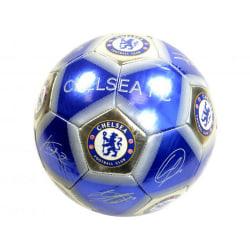 Chelsea FC Signatur Pentagon fotboll 5 Blå / Silver