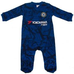 Chelsea FC Sleepsuit 12-18 Months Blå