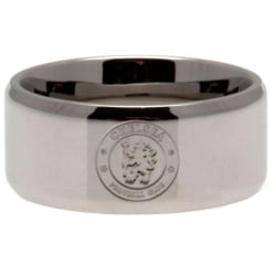 Chelsea FC Small Band Ring One Size Silver
