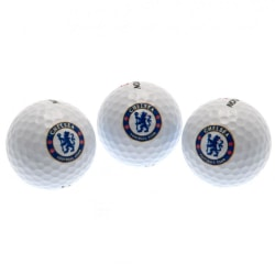 Chelsea FC Srixon Golfbollar (3-pack) One Size Vit