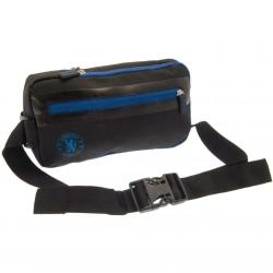 Chelsea FC Unisex Crossbody väska för vuxna One Size Svart blå