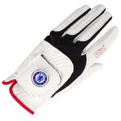 Chelsea FC Unisex vuxen golfhandske M Vit / svart / röd