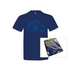 Chelsea FC Unisex vuxen T-shirt S Marin